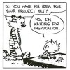 Calvin & Hobbes on Creativity
