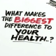 23 and 1/2 hours: What is the Single Best Thing We Can Do for Our Health?